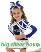 big cheer bows