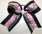 Breast Cancer Awareness Big Cheer Bow