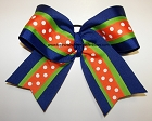 Florida Gators Inspired Big Cheer Bow