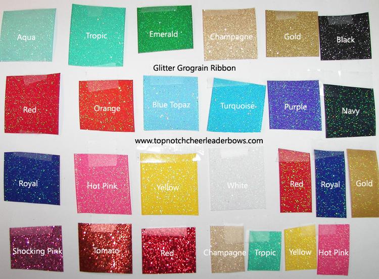 Ribbon Color Chart