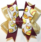 Softball Team Spirit Cheer Bow