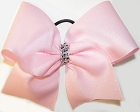 Glitter Pink Big Cheer Bow