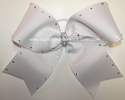 Bling Big White Cheer Bow