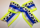 Soccer Big Spirit Hair Bow