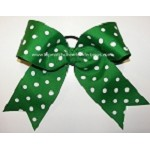 Polka Dot Big Cheer Bow